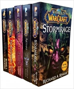 World Of Warcraft - 5 Book Collection Set