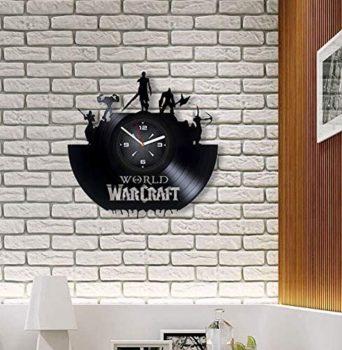 World of Warcraft Horde Vinyl Record Wall Clock