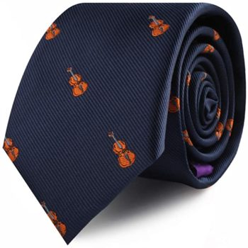 Woven Skinny Neck Ties