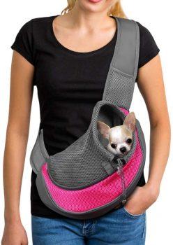 YUDODO Pet Dog Sling Carrier Breathable Bag