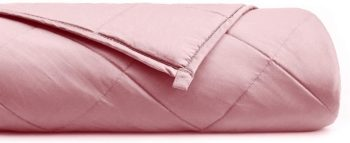 YnM Natural Bamboo Weighted Blanket