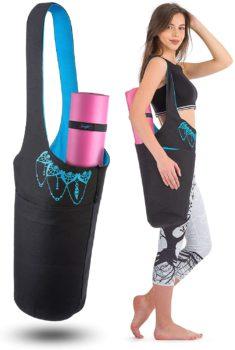 Yoga Mat Bag – Long Tote with Pockets