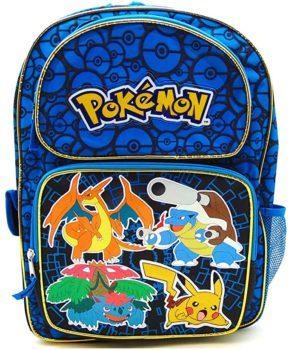 Zoofy Pokemon backpack