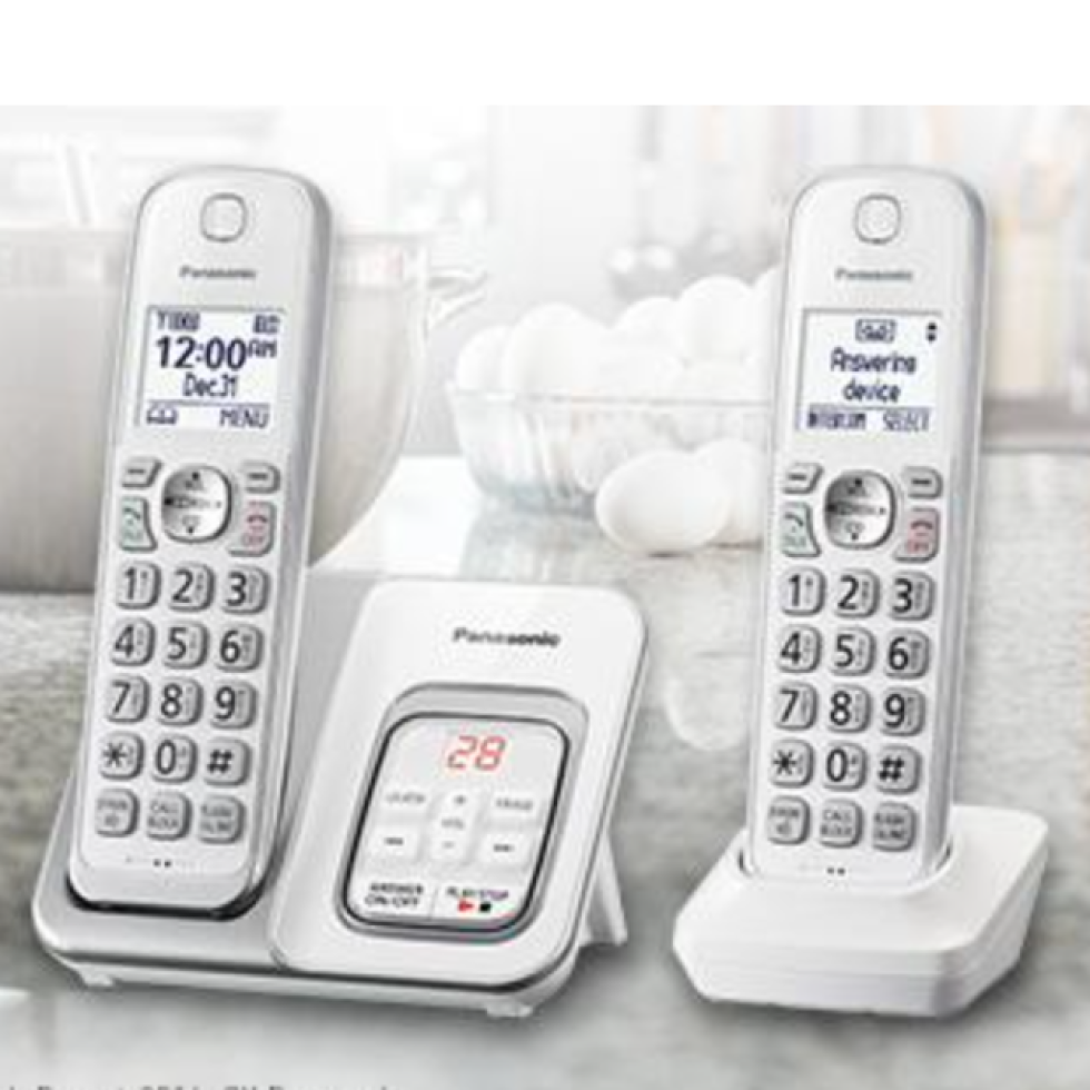 best 2 line cordless phone