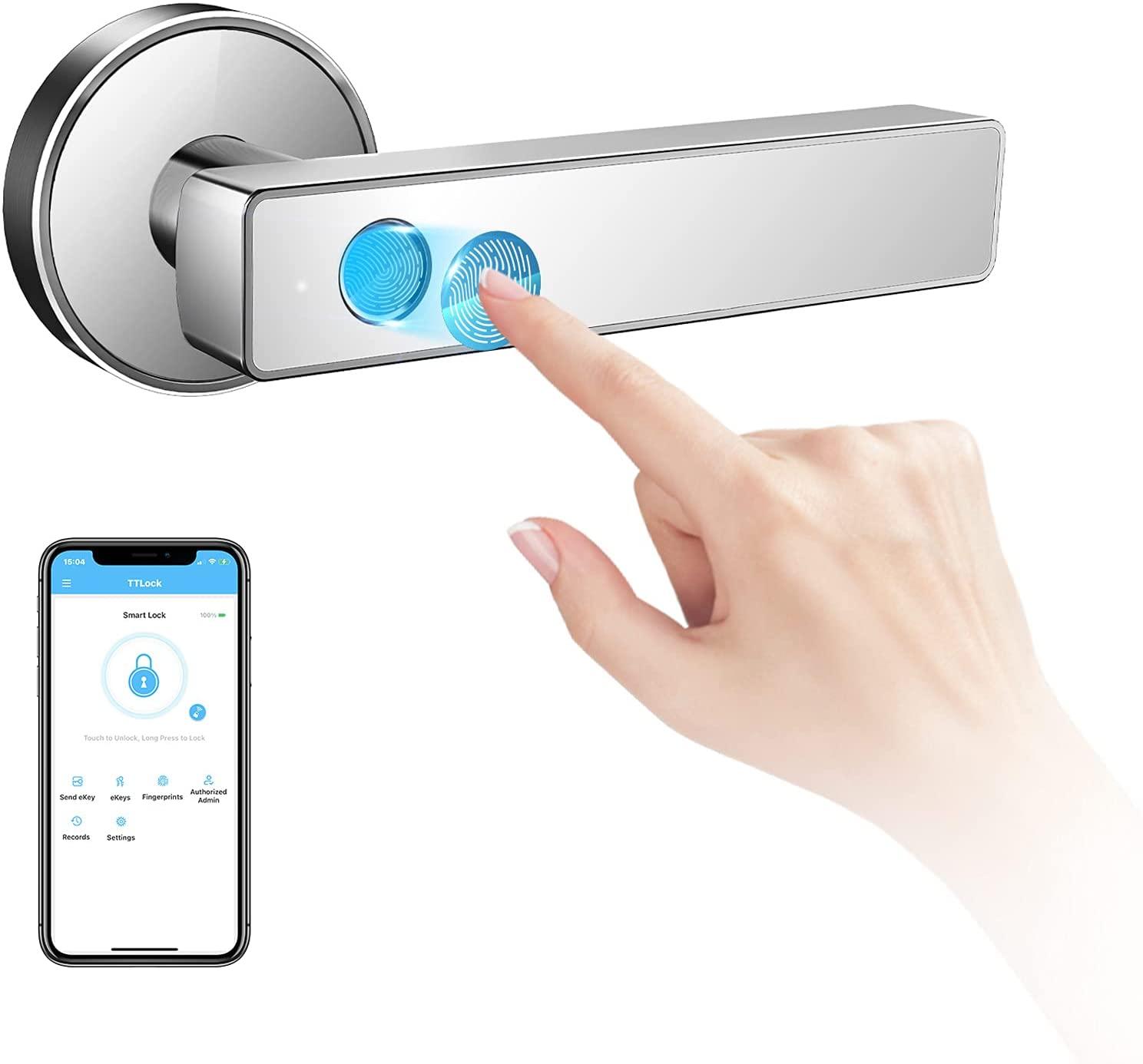 biometric garage door opener
