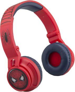 eKids Spiderman Wireless Bluetooth Portable Kids Headphones