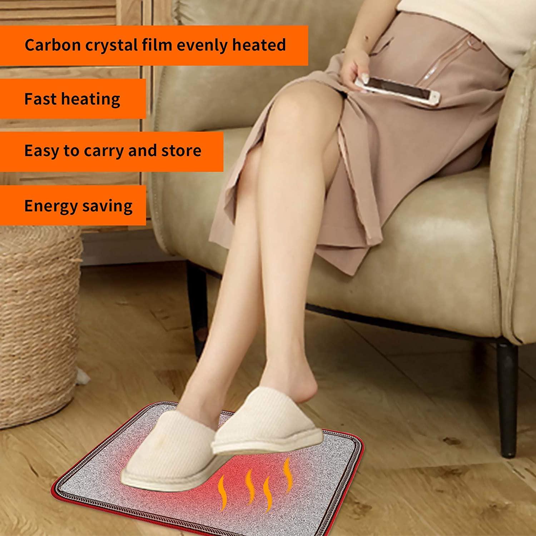 heated bathroom rug