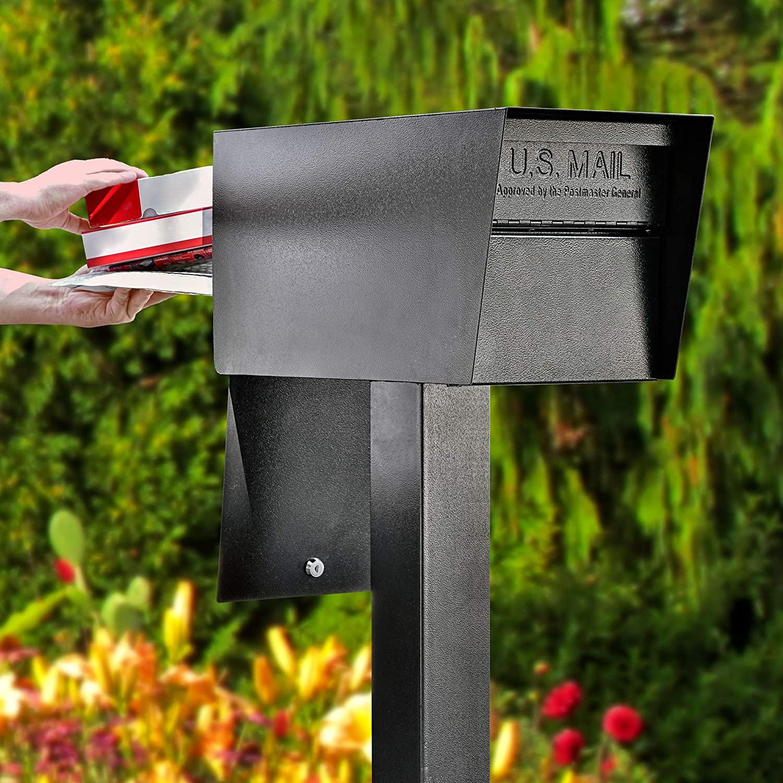 keyless locking mailbox