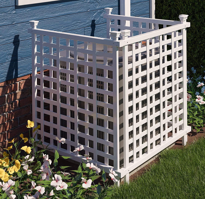 lattice air conditioner screens