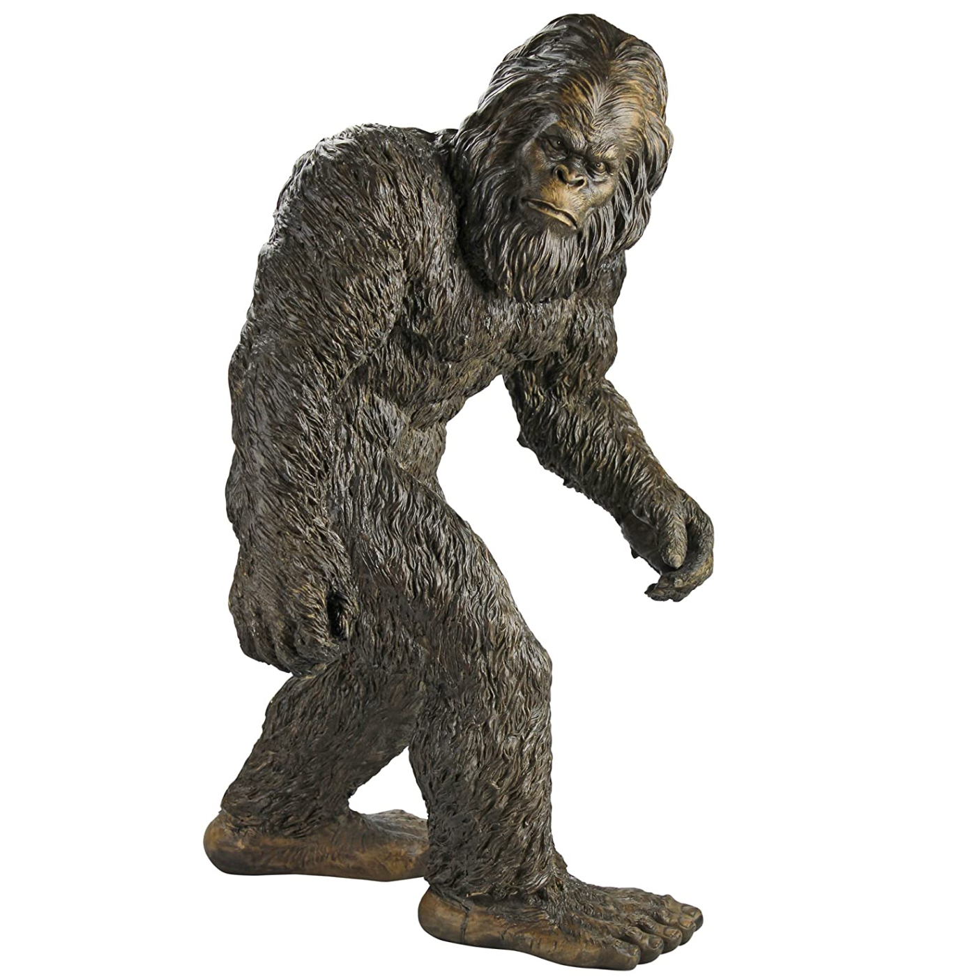 life size bigfoot statue