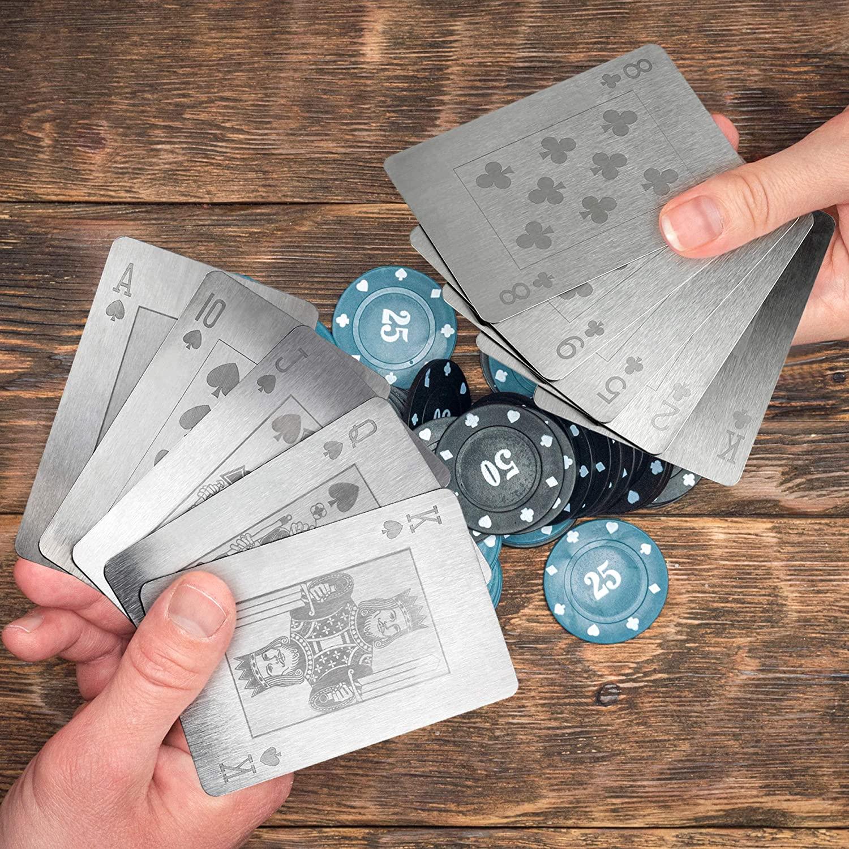 metal playing cards