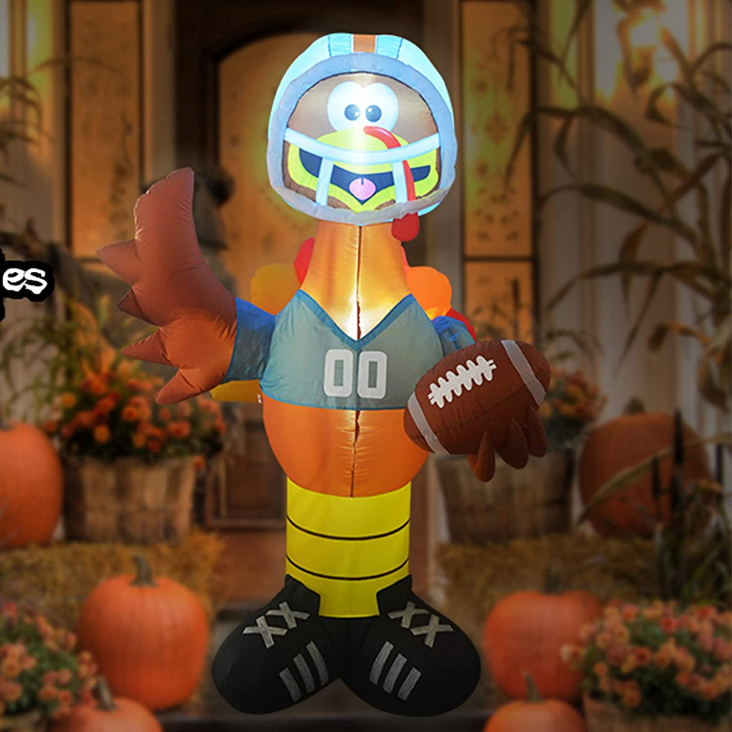 nfl inflatable player