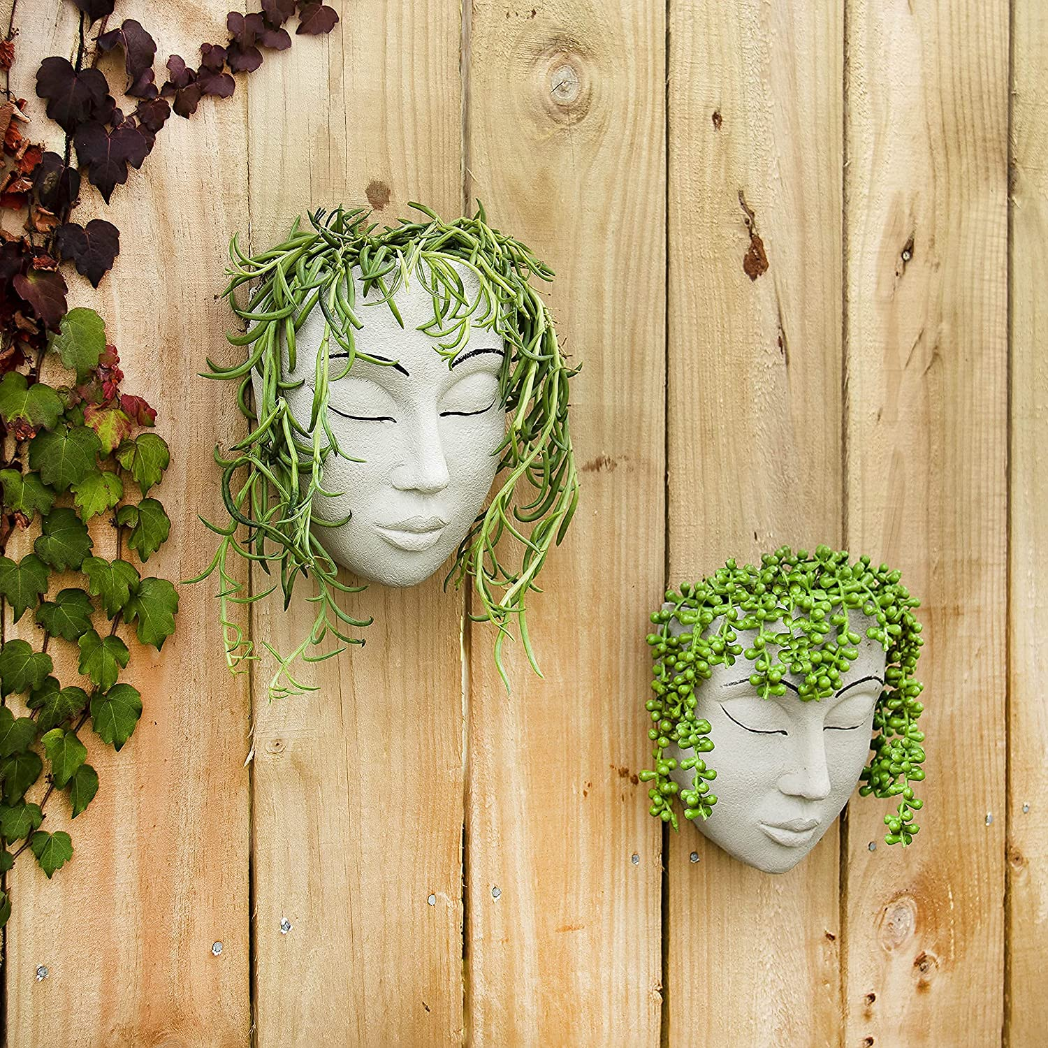 outdoor wall planters