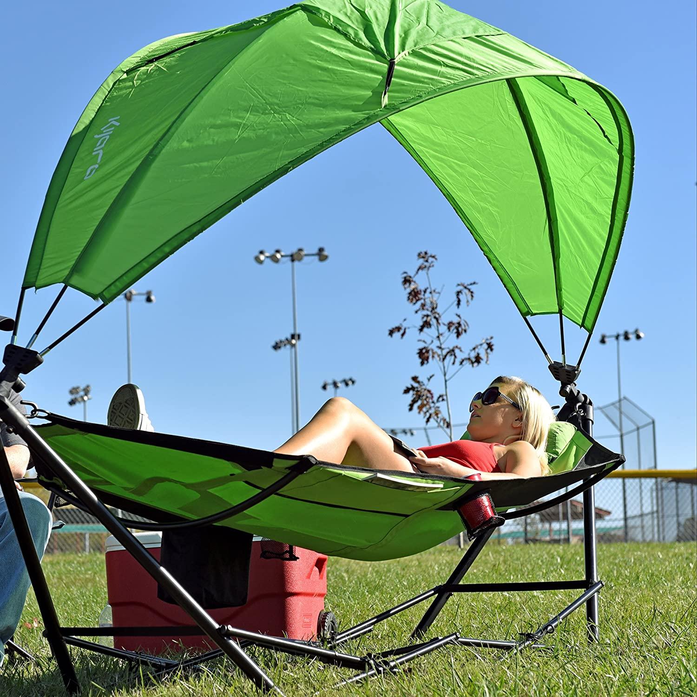 portable hammocks with canopy