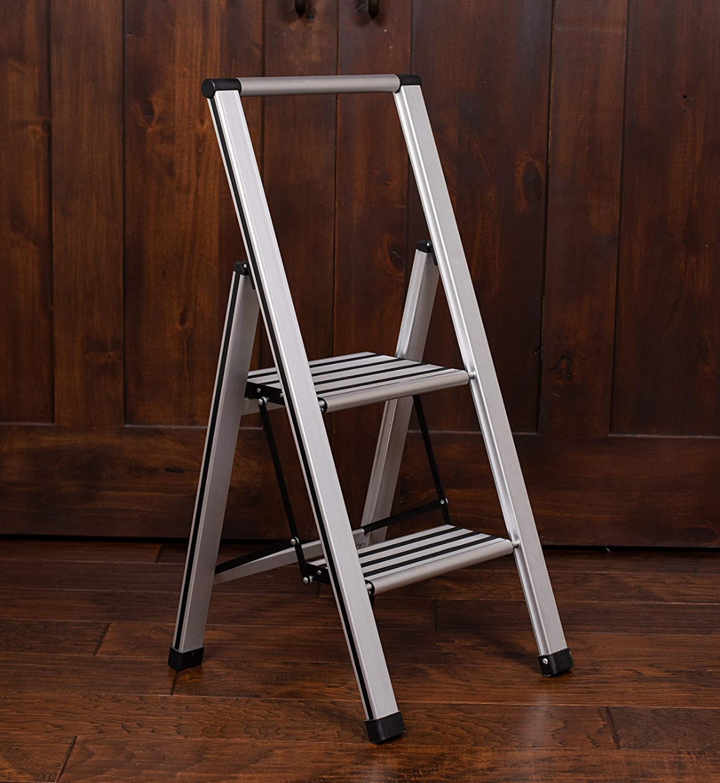ultraslim aluminum step stool